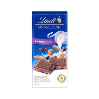 Lindt Swiss Classic - Raisin & Nuts