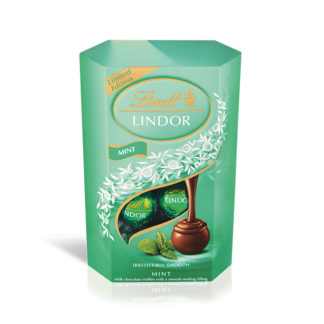 Lindor Milk Mint 200g Cornet